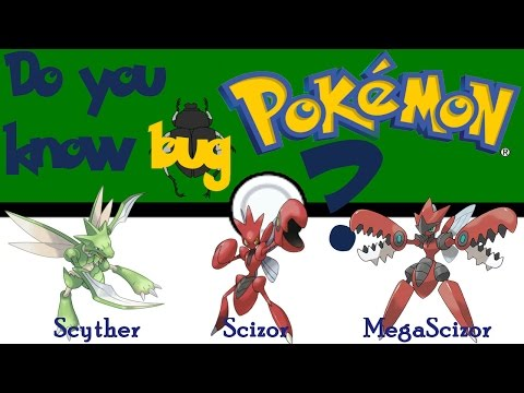 Do you know bug pokemon? - N° 123 - 212 Scything