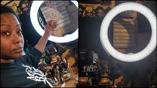 Neewer 18-inch LED Ring Light | First Impressions/Review (also hi y'all!)