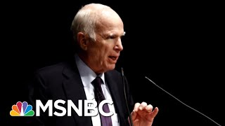 John McCain Discusses His Last Term In Office In Memoir | Morning Joe | MSNBC
