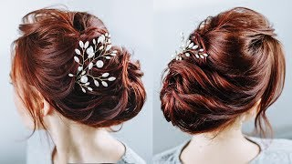 You will not believe! This hairstyle is made of flat short hair