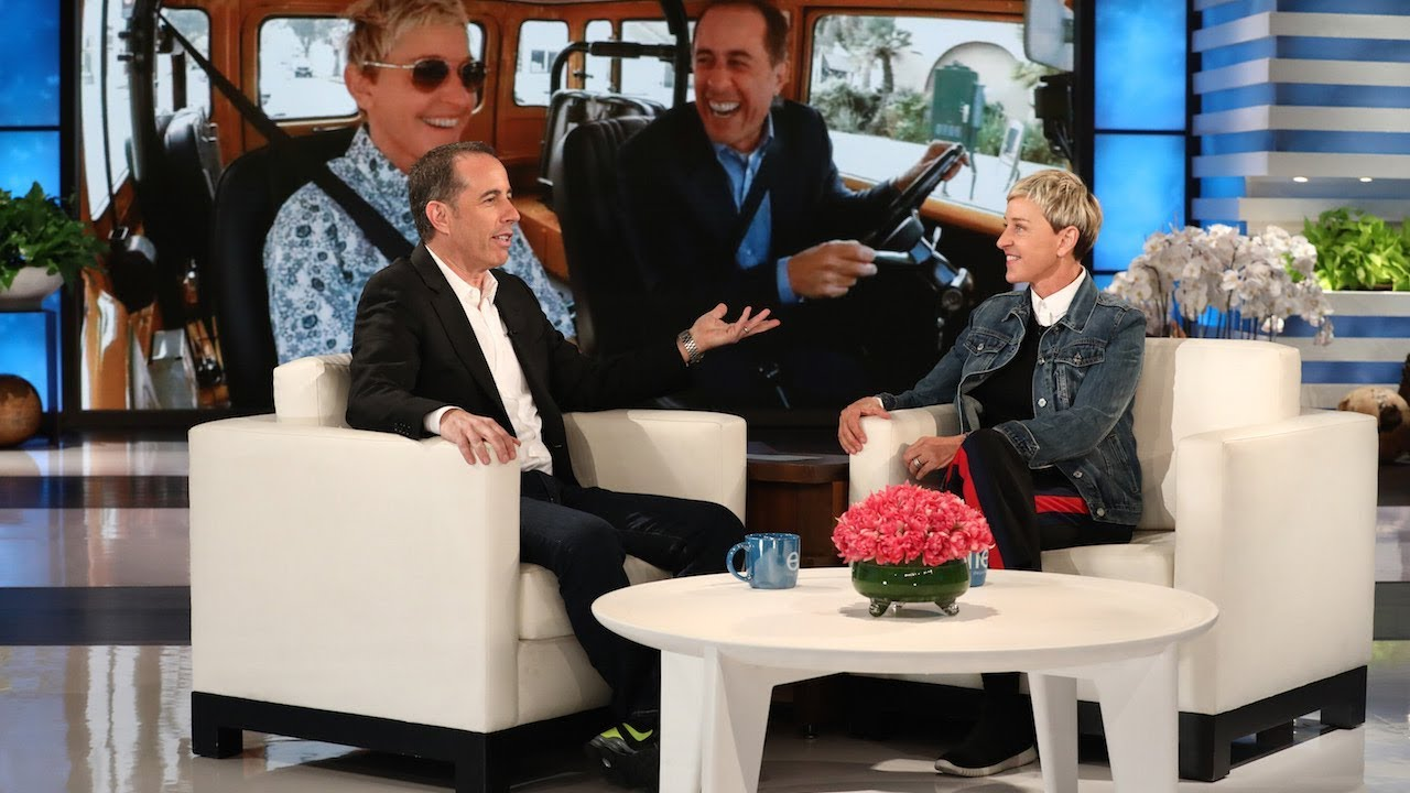 Jerry Seinfeld Debuts the First Look at Ellen on 'Comedians in Cars Getting Coffee'