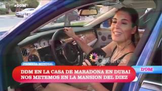 Te mostramos los lujosos autos de Diego Maradona
