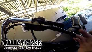 Adjust sportster clutch