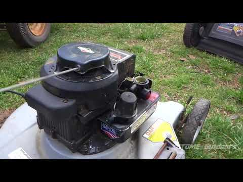 Fixing and Swapping A Briggs&Stratton 3.5 Classic Engine on to a new Hyper Tough Frame
