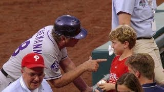 Coach gives a young fan awesome life advice