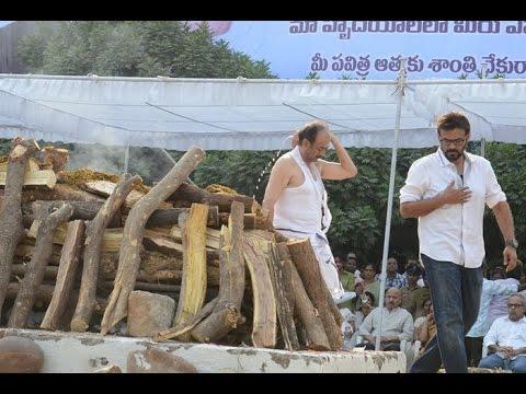 Exclusive :  Movie Mogul Ramanaidu's Cremation Full Video
