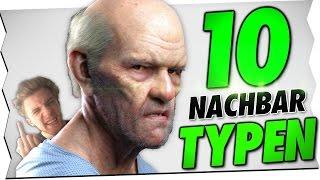 10 NACHBAR TYPEN!