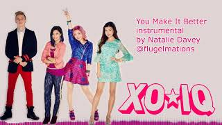Make It Pop's XO-IQ - You Make It Better (Instrumental) | Natalie Davey