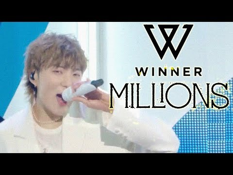 [Comeback Stage] WINNER - MILLIONS  , 위너 -  MILLIONS Show Music core 20181222