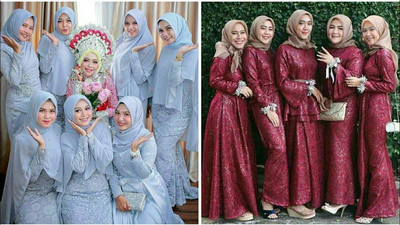 12 Model Baju Gamis dan Kebaya Brokat Pesta Muslim Modern di Tahun 12/12