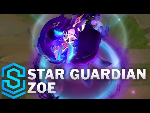 Star Guardian Zoe Skin Spotlight - Pre-Release - League of Legends