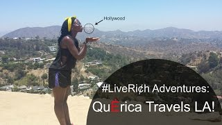 QuErica Travels LA (FULL VLOG)