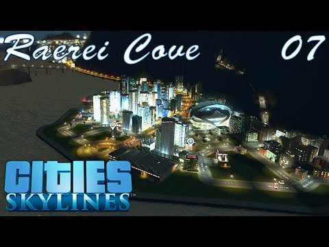 Tourist Island! Lets Play - Raerei Cove 07 #CitiesSkylines