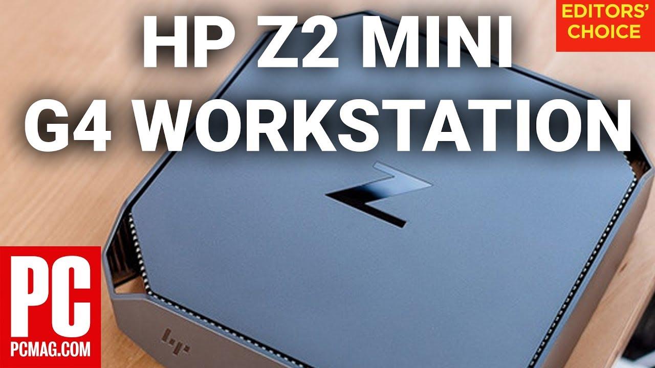 HP Z2 Mini G4 Workstation Review