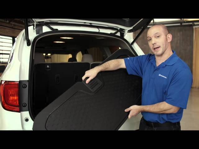 2016 Honda Pilot Tips & Tricks: Reversible Rear Hatch Floor Mat