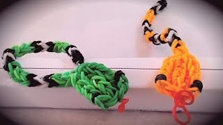 rainbow loom bracelet serpent Français