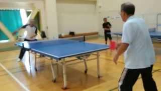 ピンポンクラブ1270 2015年6月練習NO2