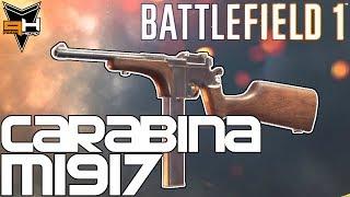 Carabina M1917 de Trinchera Cómo desbloquear y Reseña Battlefield 1 Guía de Armas ( PizzaHead )