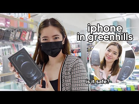 I BOUGHT AN IPHONE IN GREENHILLS + RANDOM DAY IN MANILA⎜TIN AGUILAR