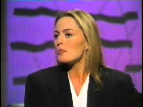 Patsy Kensit interview on Wogan, 20/12/1991