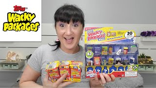 Testing Out Wacky Packages | Series 1 And 2 | Mini Brands Gross Sibling