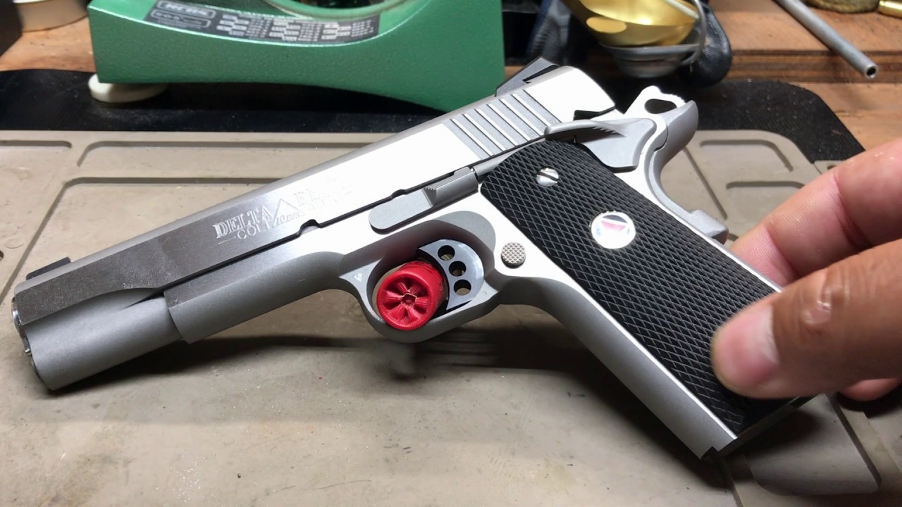 Colt Delta Elite Gen Ii 10mm Long Overdue Table Top Range Review