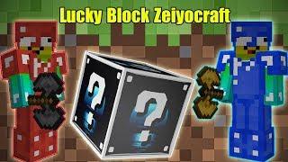 THỬ THÁCH 24H ĐẬP 101 LUCKY BLOCK **NOOB KHÁM PHÁ 101 LUCKY BLOCK ZEIYOCRAFT