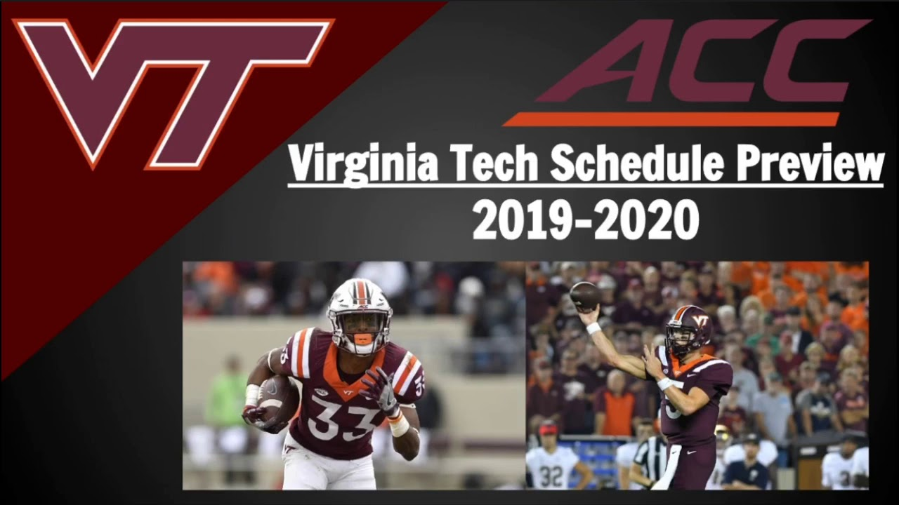 Virginia Tech Football Schedule 2020.Virginia Tech Football Schedule Preview And Predictions 2019
