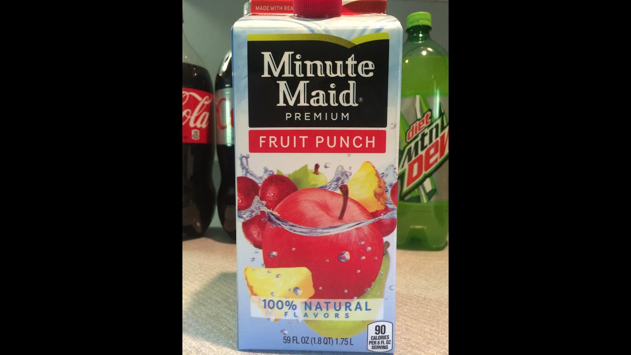 blue fruits minute maid fruit punch