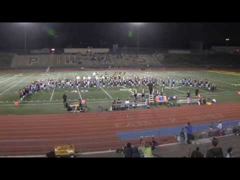 Middle School Band Night at PHHS, San Diego, 10/17/14