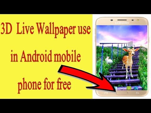 3D Live HD Nature Wallpaper In Android Mobile Device ///best Live Wallpaper