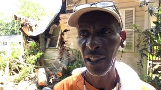 Raymond Paige, a disabled veteran of the U.S. Army, is facing homelessness after a gigantic oak tree crashed through his Beaufort home early in the morning on July 3. The tree caused major damage to Paige's home of 27 years, and the 60 year old does not have homeowner's insurance.