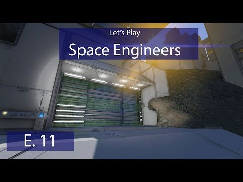 Military Drydock - Ep. 11 -Planning the Bunker! - Let's Play Space Engineers