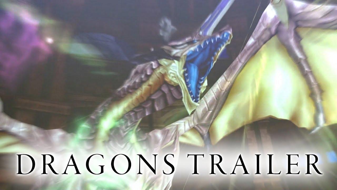The Dragon's Power Awakens in Shining Resonance Refrain