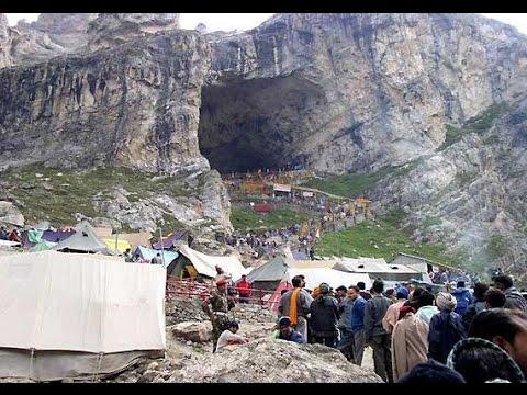 Live Video of Yatra Sri Amarnath Ji - Jammu and Kashmir