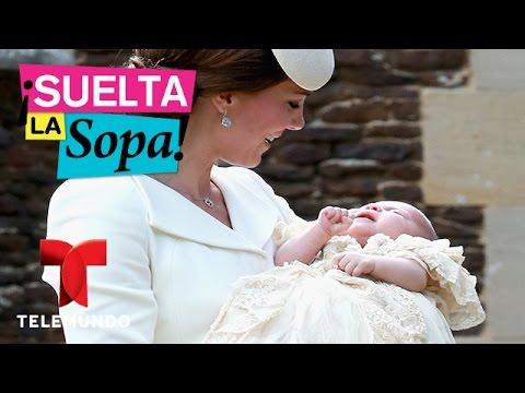 Suelta La Sopa | el bautizo real de la Princesa Charlotte de Cambridge | Entretenimiento