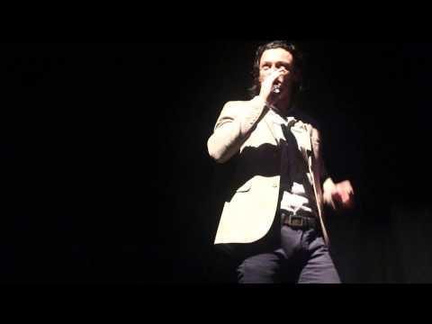 Luke Evans singing 'Delilah' by Tom Jones at the Lyric Theatre