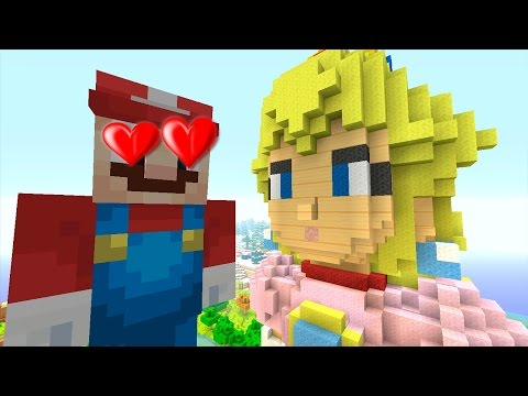 Minecraft Wii U - Super Mario Series - LOVE AT FIRST SIGHT [192]