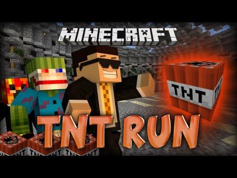 Minecraft TNT Run w/ Bashur, Preston and MCFinest