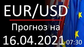 Курс доллара Eur Usd. Прогноз форекс 16.04.2021 730. Forex. Трейдинг с нуля.
