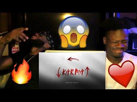 Queen Naija - Karma (Audio) *REACTION*