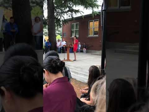 Hedia's First Speech - The Bush School School Convocation 2019