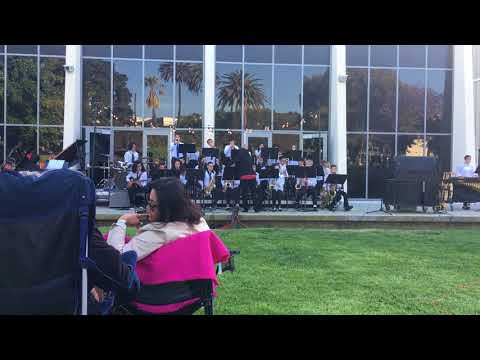 Adams Middle School band performs at Redondo Union High School Jazz under the Stars 2018
