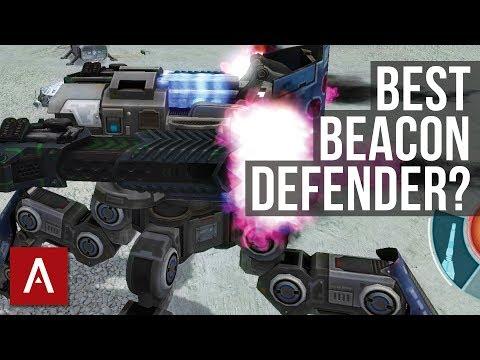 War Robots Raijin Gameplay: Best Beacon Defender (for Beacon Rush game mode)