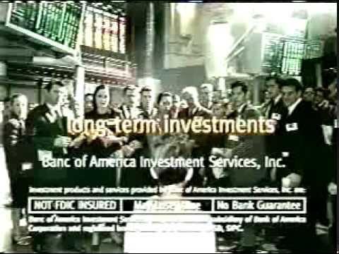 Bank of America Stockmarket Advert filmed at Sydney Town Hall July 2000