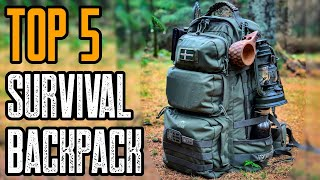 TOP 5 Best Pre-Made Survival Bug Out Bag 2020