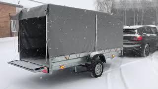 Легковой прицеп для снегохода. Трейлер 829450