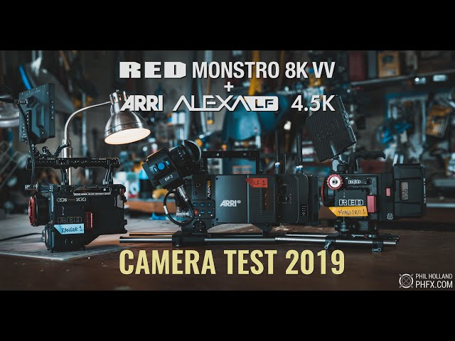RED Monstro 8K VV and ARRI Alexa LF 4.5K Camera Test 2019