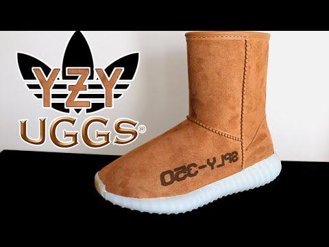 FIRST LOOK AT THE $4500 ADIDAS YEEZY V2 UGGS!! (FOR MEN)