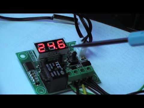 Термостат W1209 как подключить,терморегулятор для инкубатора.